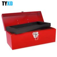 Wholesale Barn Style Metal Tool Box Portable Heavy - Gauge Sheet Steel Made from china suppliers