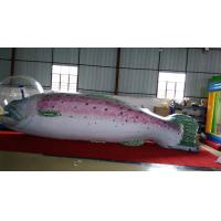 Wholesale 0.18 MMPVC Inflatable Flying Fish / Inflatable Advertising Fish Fly In The Sky In Event / Exihibition from china suppliers