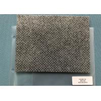 Buy cheap 480gsm Charcoal Needle Punched Non Woven Material With Anti - slip Sesame Dots from wholesalers