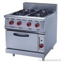 Wholesale JUSTA ZH-RQ-4 Stainless Steel Kitchen Equipments 4.8KW PNG Gas Burner With Oven from china suppliers