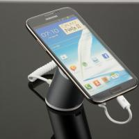 Wholesale COMER clip mobile phone charger stands with alarm sensor and charging cord from china suppliers