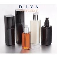Wholesale Customize plastic cosmetic packaging bottle with cap from china suppliers