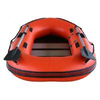 Wholesale 0.9mm PVC Fabric Inflatable Fishing Dinghy Hard Bottom Inflatable Boats from china suppliers