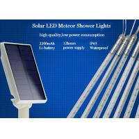 Wholesale 10 Tubes Solar Powered Meteor Shower Lights String 50cm With EU / US Plug from china suppliers