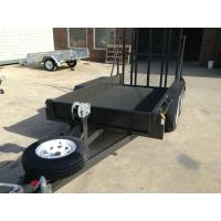 Wholesale Multi Purpose Tandem Plant Trailer With Electric Brakes / 3 Way Drawbar from china suppliers
