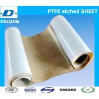 Wholesale two side ptfe etched sheet brown for stick to rubber from china suppliers