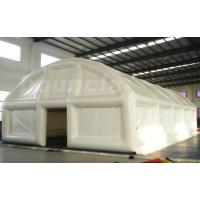 Wholesale 0.9mm PVC Tarpaulin Air Sealed  Tent , White Color Tent For Event from china suppliers