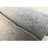 Wholesale Stable Fiber Grey Felt Fabric High Thermostability Customized Length Width from china suppliers
