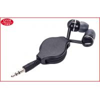 Wholesale Custom 0.8m earphone Retractable Earbuds Two Way Earplug Reel from china suppliers