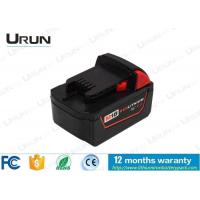 Quality 18V 4000mAh Milwaukee Lithium Ion Replacement Battery For Cordless Drill Tools for sale
