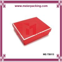Wholesale Coated paper garment box, clothing packaging box ME-TB013 from china suppliers