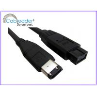 Wholesale High Performance IEEE 1394 Firewire cables A type Male to B Female from china suppliers
