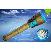 Wholesale Rechargeable 8000Lm Led Dive Flashlight Scuba Diving Lights 700G Weight from china suppliers