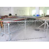 Quality Flexible Stainless Steel Wire Rope Mesh Frame Panels For Railing for sale
