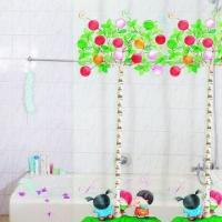 Wholesale Promotional PVC Printed Shower Curtains, Customized Designs and Sizes are Accepted from china suppliers