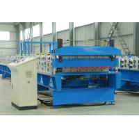 Wholesale Double Layer Sheet Metal Roll Former Machine With Steel Structure Cladding from china suppliers