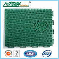 Wholesale Floated Waterproof Badminton Interlocking Rubber Flooring For Tennis Court from china suppliers