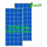 Wholesale 130 W 18V Poly Solar Panel Safety IEC61250 / IEC61730 Certified from china suppliers