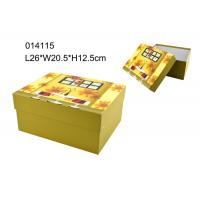 Wholesale Popular Printing Square Paper Packing Boxes Decorated OEM / ODM from china suppliers