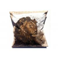 "Wholesale Floor Lion Cushion Cover , Personalized Decorative Pillow 18"" Customized from china suppliers"