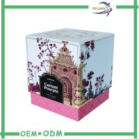 Wholesale Luxury Square Paper Candle Packaging Boxes / Candle Gift Box With Custom Printing from china suppliers