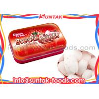 Wholesale Sour Sweets Sugar Free Candy For Diabetics , Tin Box Round Mint Candy from china suppliers