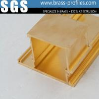 Wholesale Decorative Brass Hardware Copper Alloy Extrusions Sections from china suppliers