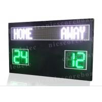110V ~ 250V LED Football Scoreboard Iron / Steel / Aluminum Frame Material