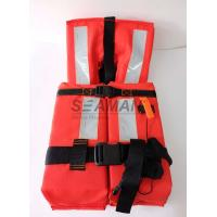 Wholesale 150N Offshore Marine Life Jacket SOLAS 74/96 CCS/MED With Reflective Tape from china suppliers