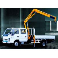 Wholesale Durable Mobile Folding Truck Articulated Boom Crane , 3200kg Truck Mounted Crane from china suppliers