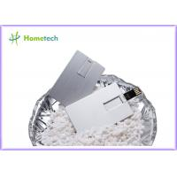 Wholesale Waterproof Super Slim Credit Card USB Storage Device , Metal USB Flash Drives from china suppliers