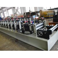 Wholesale Customized Cold Beam Rack Steel Roll Forming Machine With Fly Saw Cutting from china suppliers