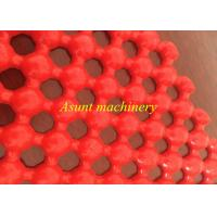 Wholesale Highly Output Pvc Plastic Mat Making Machine For Anti Slip Hollow Type Floor Mat / Carpet from china suppliers