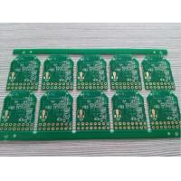 Buy cheap 1.0mm board thickness 0.5 oz green somdask smart home printed circuit board PCB from wholesalers