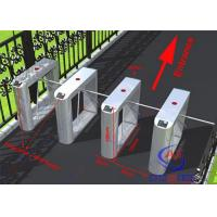 Wholesale Office Building electronic Tripod Half Height Turnstiles Gate With RFID Fingerprint Reader from china suppliers