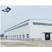 Buy cheap Pre engineering high rise hotel factory two story prefabricated steel structure building from wholesalers