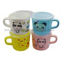 Wholesale Safe Baby Training Cup for Drink Milk with Handle , PP Baby Water Training Cup with Lid from china suppliers