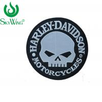 China Commercial Custom Motorcycle Vest Patches DIY Skull Motorcycle Patches for sale