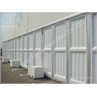 Wholesale Waterproof Outdoor Event Tent Fittings Glass Wall / ABS Wall / Corrugated Sheet Wall from china suppliers