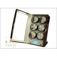 Wholesale Watch Mover / Multiple Watch Winder 12 Automatic Watches / Watch Winder 6 Motors from china suppliers