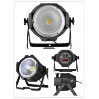 Buy cheap DMX-512 100W COB LED RGB Par Can / pure white disco stage light from wholesalers