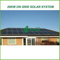 Wholesale Eco-friendly On Grid Solar Energy Products 20kw For Grid Tied Solar System from china suppliers