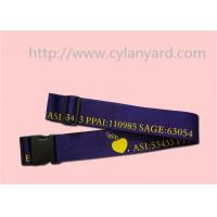 Wholesale Personalized printed luggage belt with detachable buckle, from china suppliers