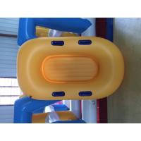 Wholesale Yellow Inflatable Lifeboat Enhanced Strong PVC Lightweight Inflatable Boat from china suppliers