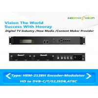 Wholesale Support 4 CAS Digital TV Modulator All-In-One With Encoding Multiplexing Modulator from china suppliers