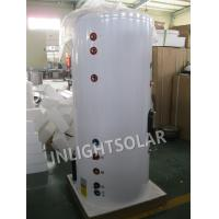 Quality Residential Building Solar Heated Water Tank With Color Coated Galvanized Steel Outer Tank for sale