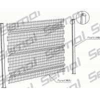 Buy cheap Welded Fence With Peach Post from wholesalers