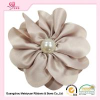 Wholesale Ivory Handamde Fabric Flowers For Wedding Dresses SGS certificated from china suppliers
