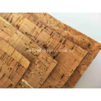 Wholesale Colorful Thin Soft Natural Cork Rubber Sheet Roll Synthetic Leather Fabric from china suppliers