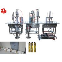 Wholesale 316 Stainless Steel PU Foam Aerosol Can Filling Machine Semi Automatic from china suppliers
